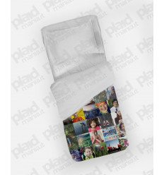 Piumino Mini 75X100 personalizzato con foto collage