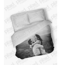 Piumino matrimoniale maxi 240X240 personalizzato con foto