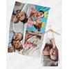 Offerta Festa della Mamma - Tovaglia da tavola 140x180 cm + Grembiule 65x90 cm da personalizzare con foto