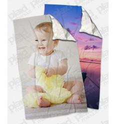 Offerta YouAndMe Spring - 2 Plaid 100x180 Personalizzati con una foto