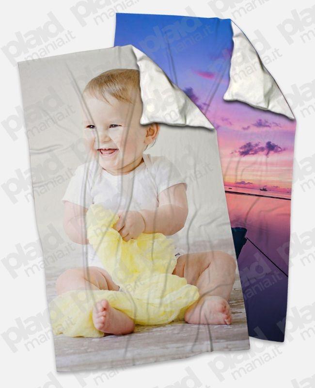 Offerta YouAndMe Autumn - 2 Plaid 100x180 Personalizzati con una foto