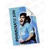Plaid - Coperta in pile 130X180 personalizzata con foto Maradona - Innamorato Son