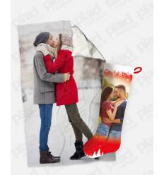 Offerta YouAndMe Winter - 2 Plaid 100x180 Personalizzati con una foto