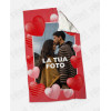 Plaid - Coperta in pile personalizzata con foto - My Love