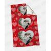 Plaid - Coperta in pile personalizzata con foto - Three Love