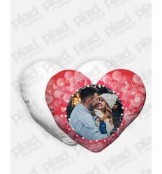 Cuscino forma Cuore personalizzato San Valentino - Bubble Heart