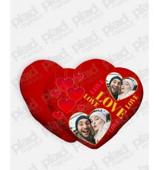 Cuscino forma Cuore personalizzato San Valentino - Love