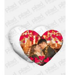 Cuscino forma Cuore personalizzato San Valentino - In Love