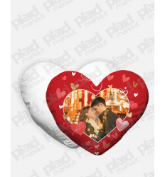Cuscino forma Cuore personalizzato San Valentino - Red Love