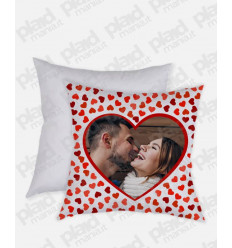 Cuscino forma Quadrata personalizzato San Valentino - Just Two of Us