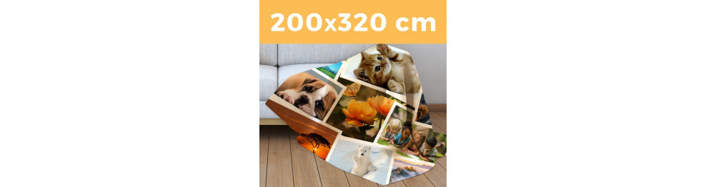 Plaid Maxi 320 X 200 cm