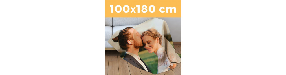 Plaid Singolo Maxi 100 X 180 cm