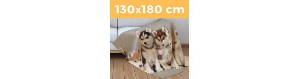 Plaid Singolo Maxi XL 130 X 180 cm