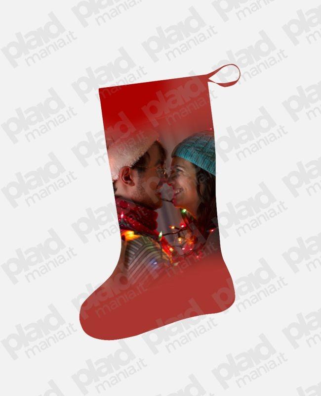Calza Befana personalizzata con foto
