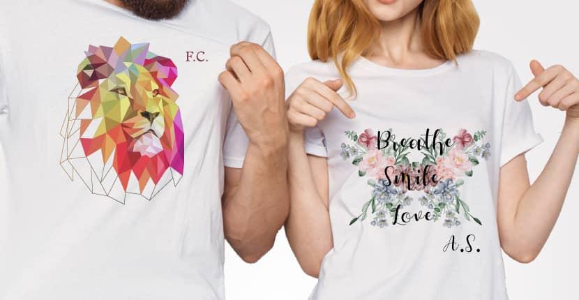 T-Shirt - Maglie personalizzate con foto, nomi, frasi