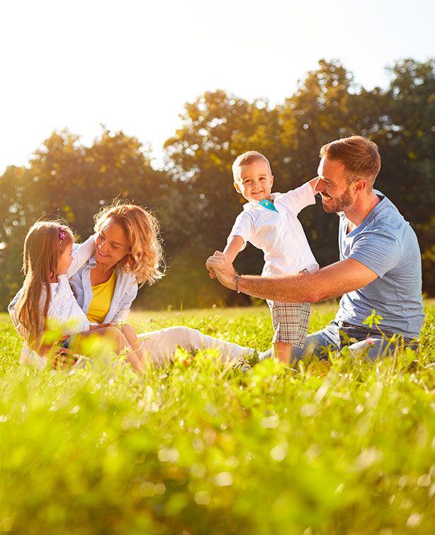 Plaid personalizzati con grafiche e foto di famiglia