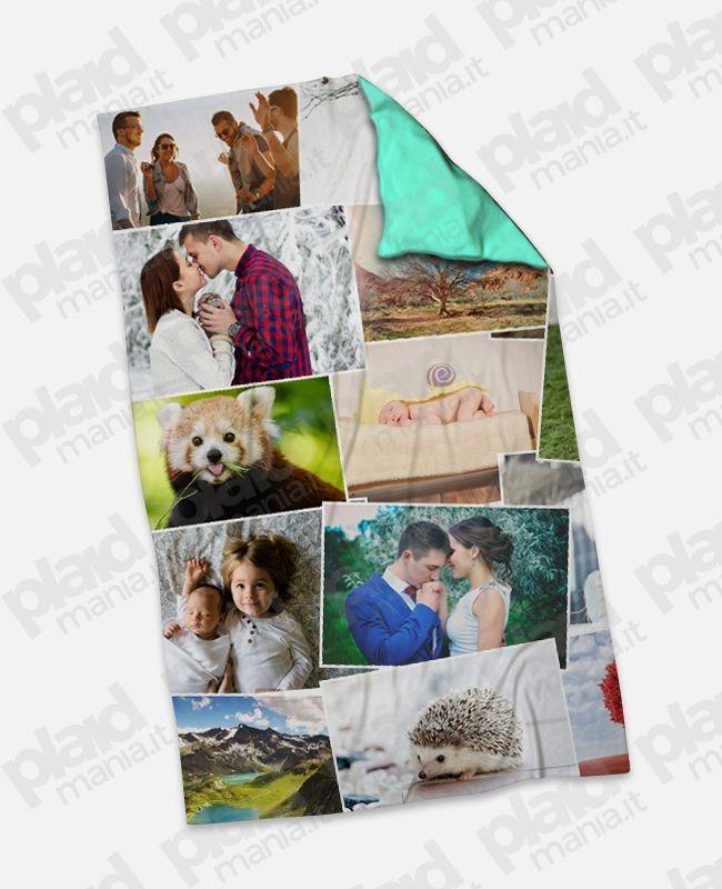 Plaid personalizzati con foto