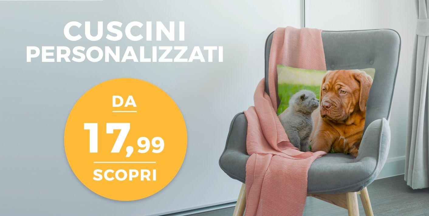 Cuscini Personalizzati con foto a partire da 19,99 €